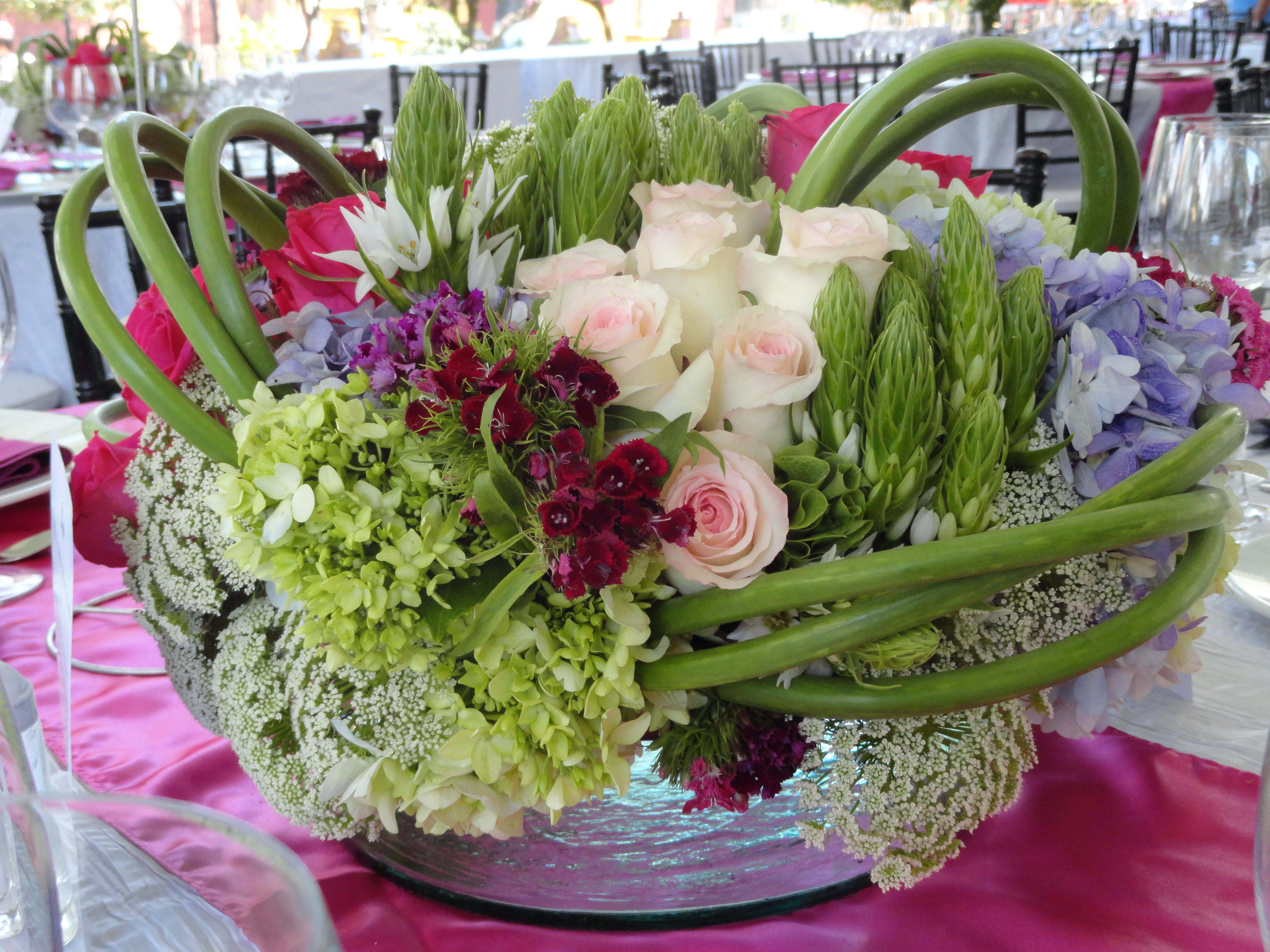 Arreglos Florales Para Mesas De Bodas