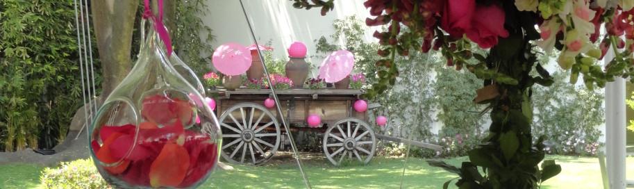 Bodas de primavera archives annafiori for Arreglos florales para boda en jardin