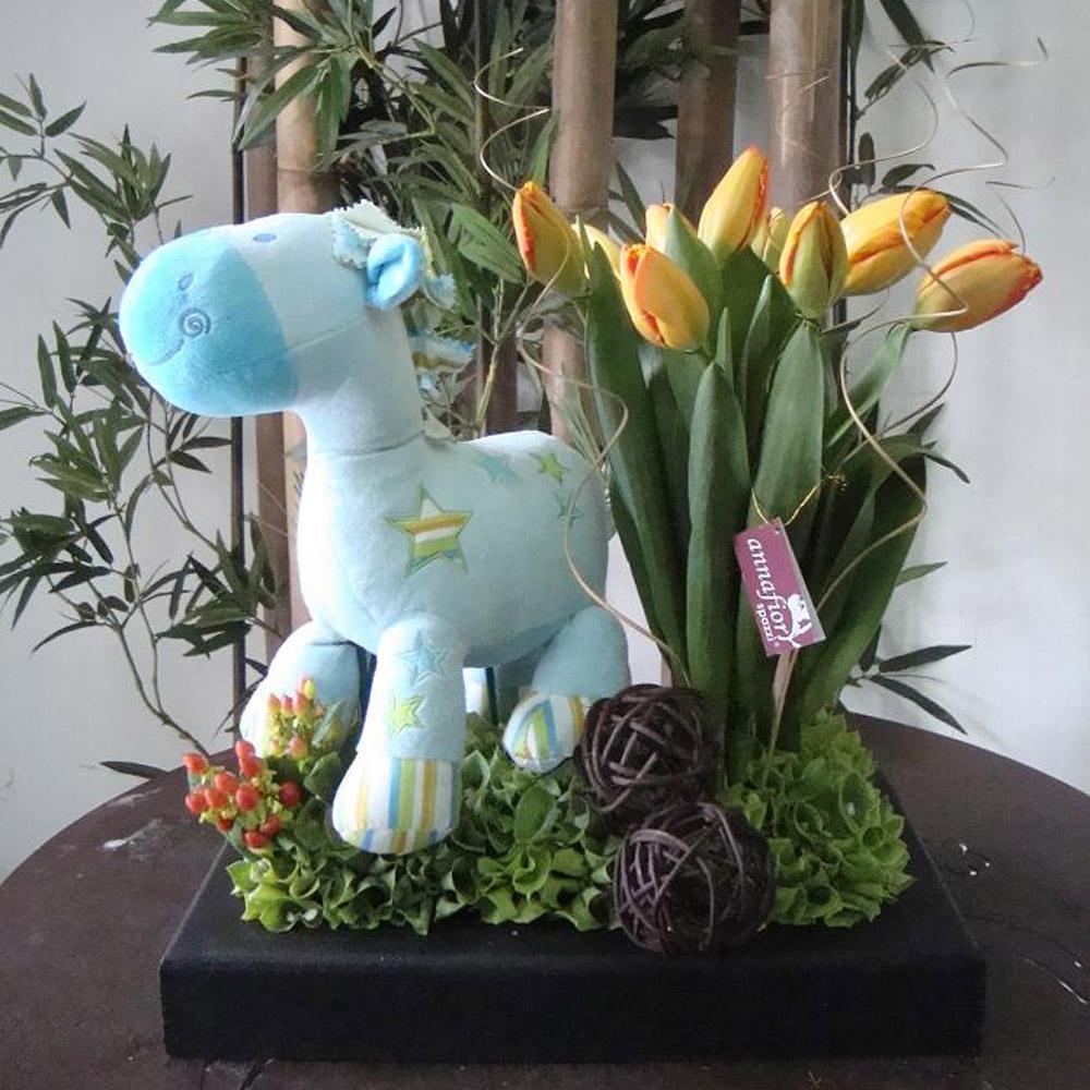 Tulipanes Con Peluche