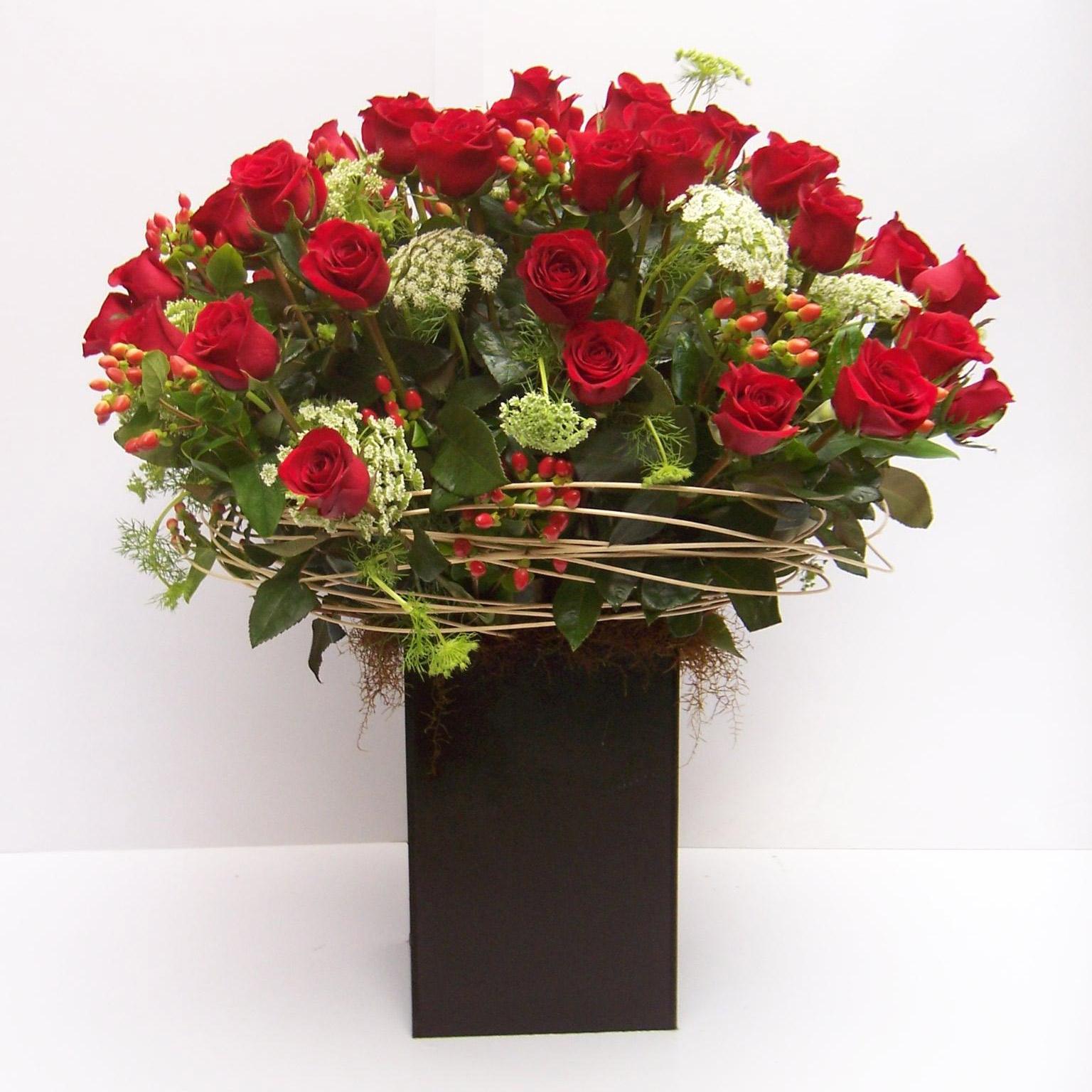 Rosas Rojas Para Enamorados