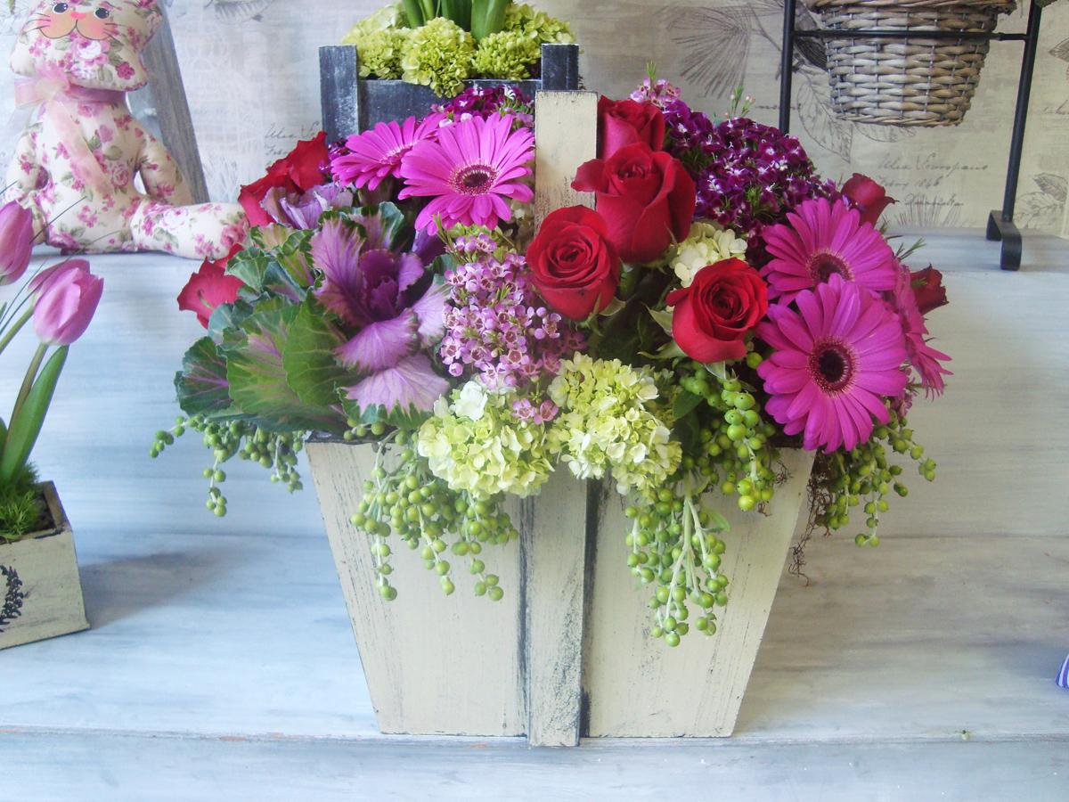 arreglos florales vintage