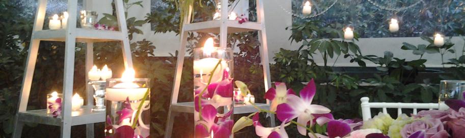 Centros de mesa archives annafiori for Decoracion fiesta jardin noche